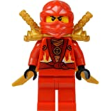 LEGO® Ninjago: Kai Minifig (Red Ninja) with Two Gold Swords - Limited Edition 2015