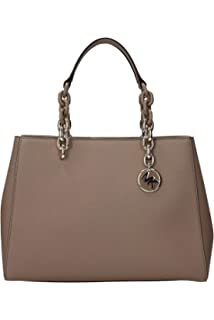 83b5b032654132 MICHAEL Michael Kors Cynthia Convertible Medium Leather Satchel ...