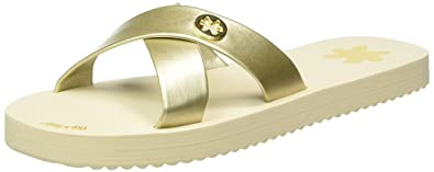 flip*flop Damen Original Cross Metallic 2 Pantoletten