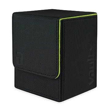 Vault X Caja para mazo de Cartas con Fundas Negras, MTG ...