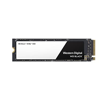 Western Digital WD Black NVMe - Disco duro sólido SSD 500GB, M.2, PCI Express 3.0, 3400 MB/s