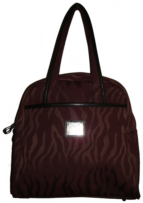 7193c51e7e5cf Amazon.com: Liz Claiborne Women's Monte Carlo Carry-On Luggage Satchel  Handbag, Merlot: Shoes