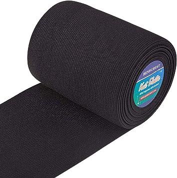 Jajasio 25 Meter Gummiband schwarz 60mm breit Gummiband Nähen 0,90 EUR//m