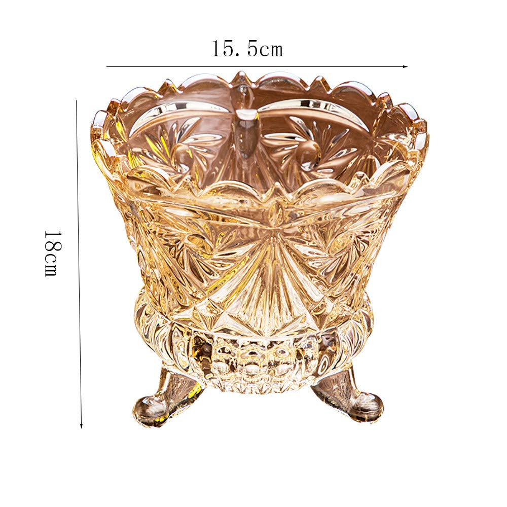 Coolers,A GYLbox Glass Ice Bucket//Ice Buckets For Parties,Thick bottom for Bar,Wine,Kitchen,Home,Drinks