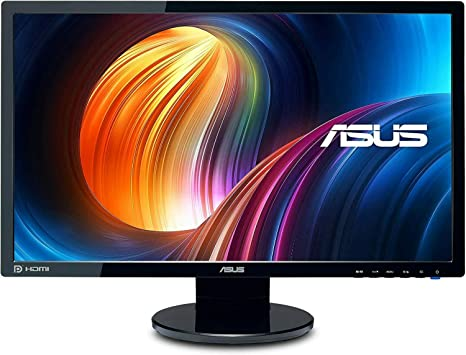 ASUS tek VE248Q Asus VE248Q LCD retroiluminación LED 24 Pulgadas de Ancho, HDMI, DisplayPort DVI V: Amazon.es: Electrónica