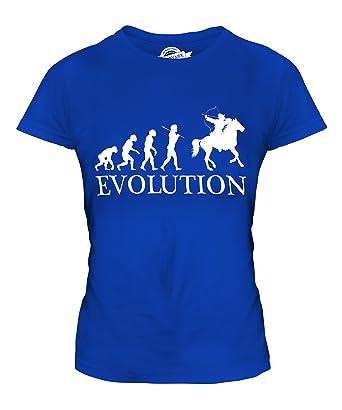 CandyMix Berittenes Bogenschießen Evolution Des Menschen Damen T Shirt:  Amazon.de: Bekleidung