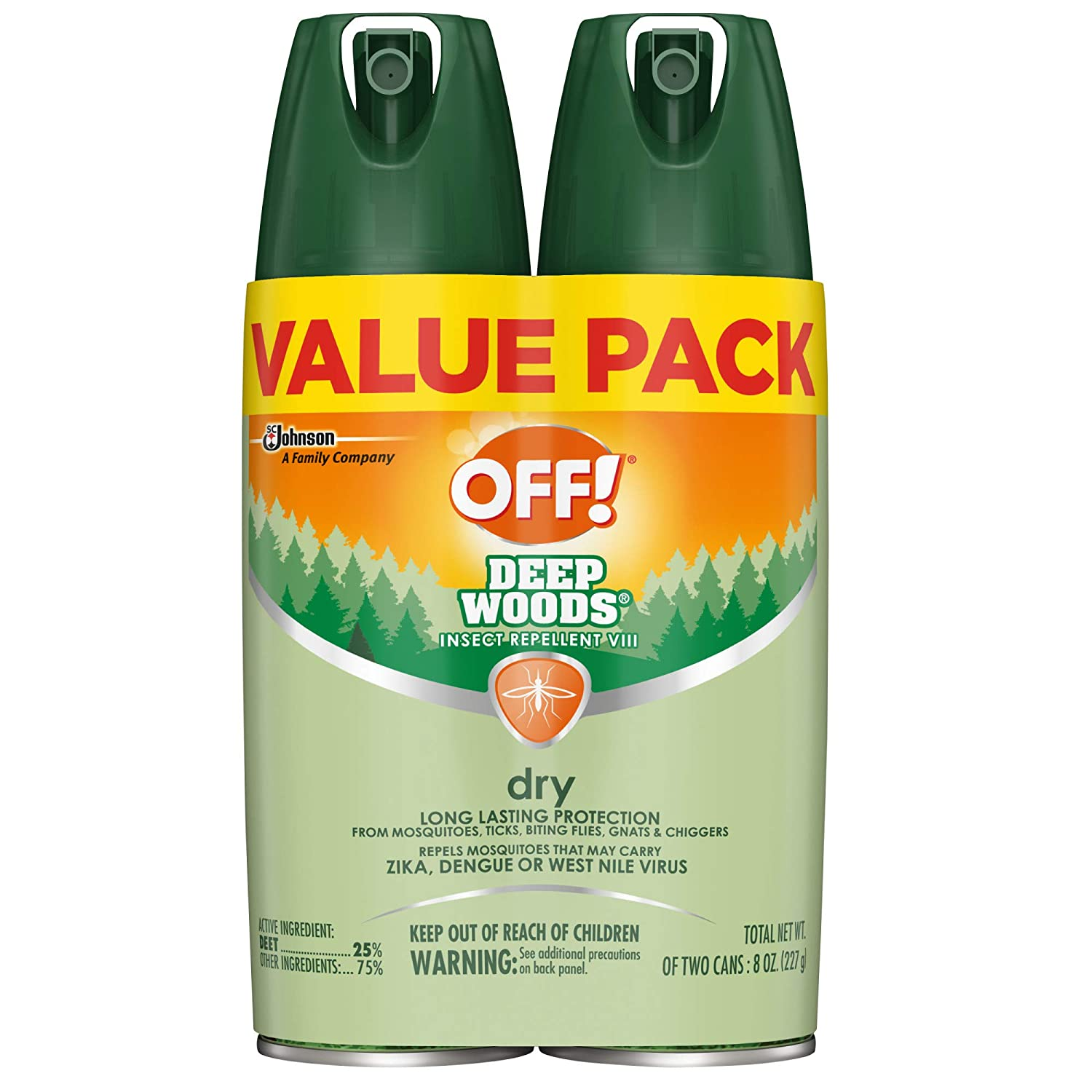 OFF! Deep Woods Insect Repellent 2-Pack ONLY $8.57 Shipped