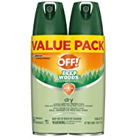 OFF! Deep Woods Insect & Mosquito Repellent VIII, DryTouch Technology, Long Lasting...