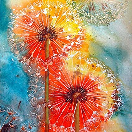 c520be7a1b Diamond Painting,Hongxin 5D DIY Diamond Painting Cross Stitch Diamond  Embroidery Colorful Dandelion Picture 3d