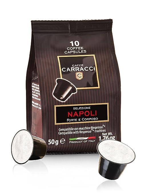 231 opinioni per Caffè Carracci 100 capsule compatibili Nespresso miscela Napoli