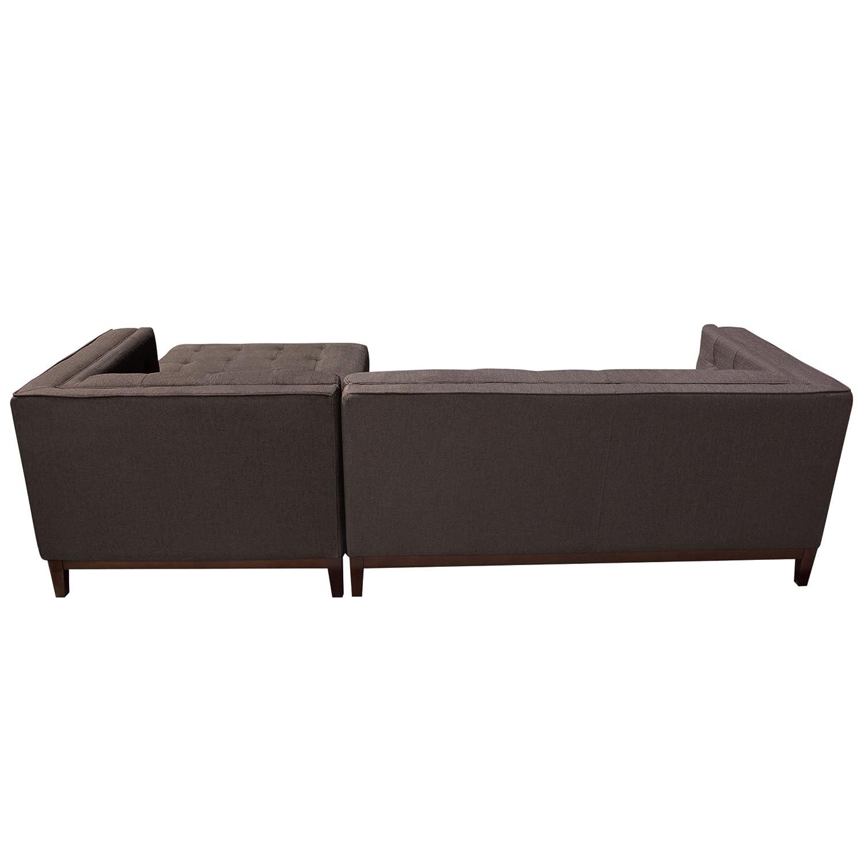 Strange Amazon Com Diamond Furniture Manhattanrfsectbr Manhattan Gamerscity Chair Design For Home Gamerscityorg