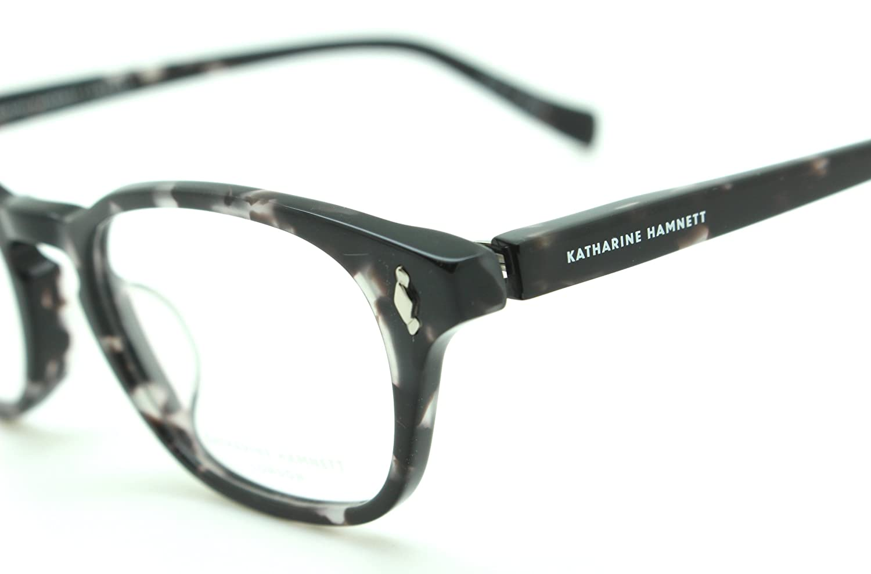 KATHARINE HAMNETT LONDON キャサリンハムネット PC用メガネ ブルーライトカットレンズ装着 クリア 透明 UVカット KH-9138 color.4 コンタクトをつけたまま使用できます   B06ZYX33DN