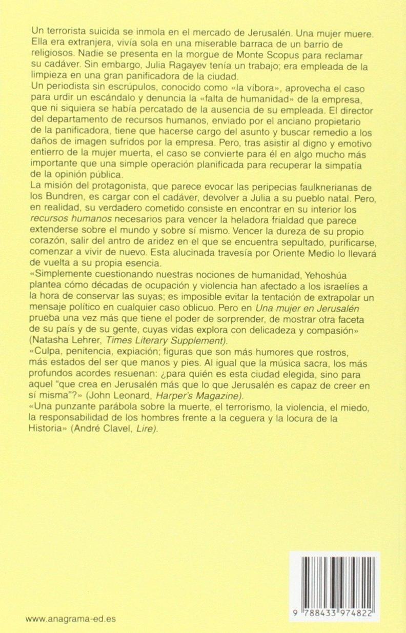 Una mujer en Jerusalen (Spanish Edition): Abraham B ...