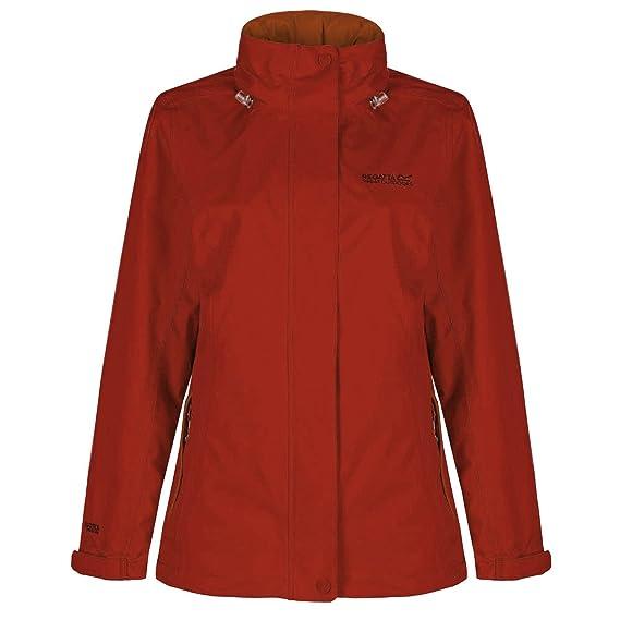 4aec01865 Regatta Great Outdoors Womens/Ladies Calyn Stretch Waterproof Jacket:  Regatta: Amazon.co.uk: Clothing