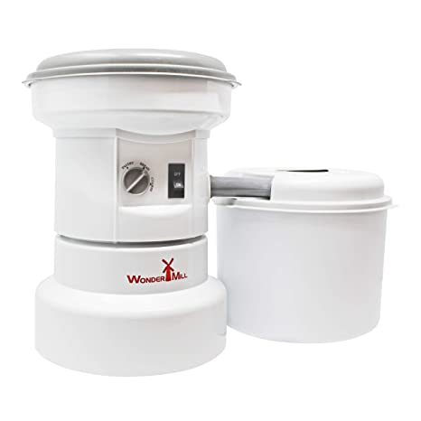 Powerful Electric Grain Mill Grinder for Home and Professional Use - High Speed Electric Flour Mill