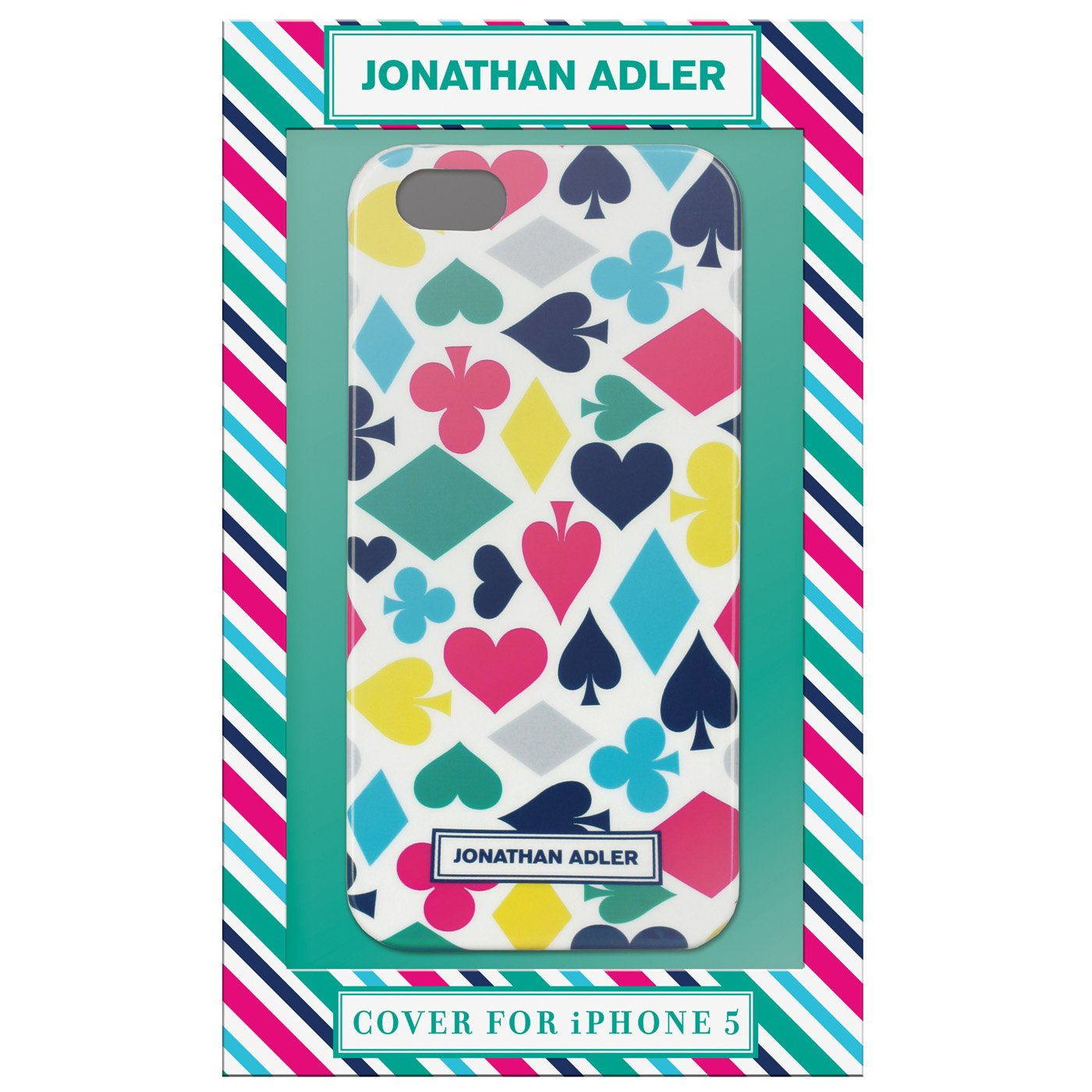 Jonathan Adler iPhone 5 Cover - House of Cards