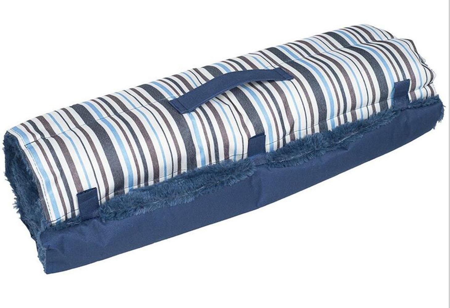 WYXIN Tessuto in peluche a righe Completamente pieghevole Pet Maternità Mat Mat Dog Dog Bed Dog Bed