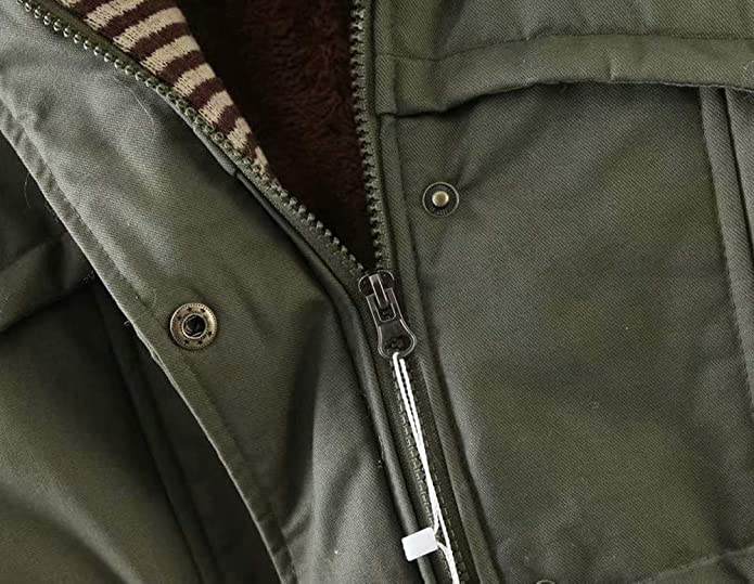 Amazon.com: Amiley Parkas - Chaqueta de invierno con capucha ...