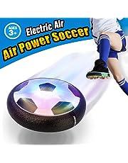 VIDEN Juguete Balón de Fútbol Flotante, Air Soccer Ball con Luces LED, Air Football con Parachoques de Espuma, Formación en Casa, Niños Deportes Regalo de Navidad [Nuevo Modelo]