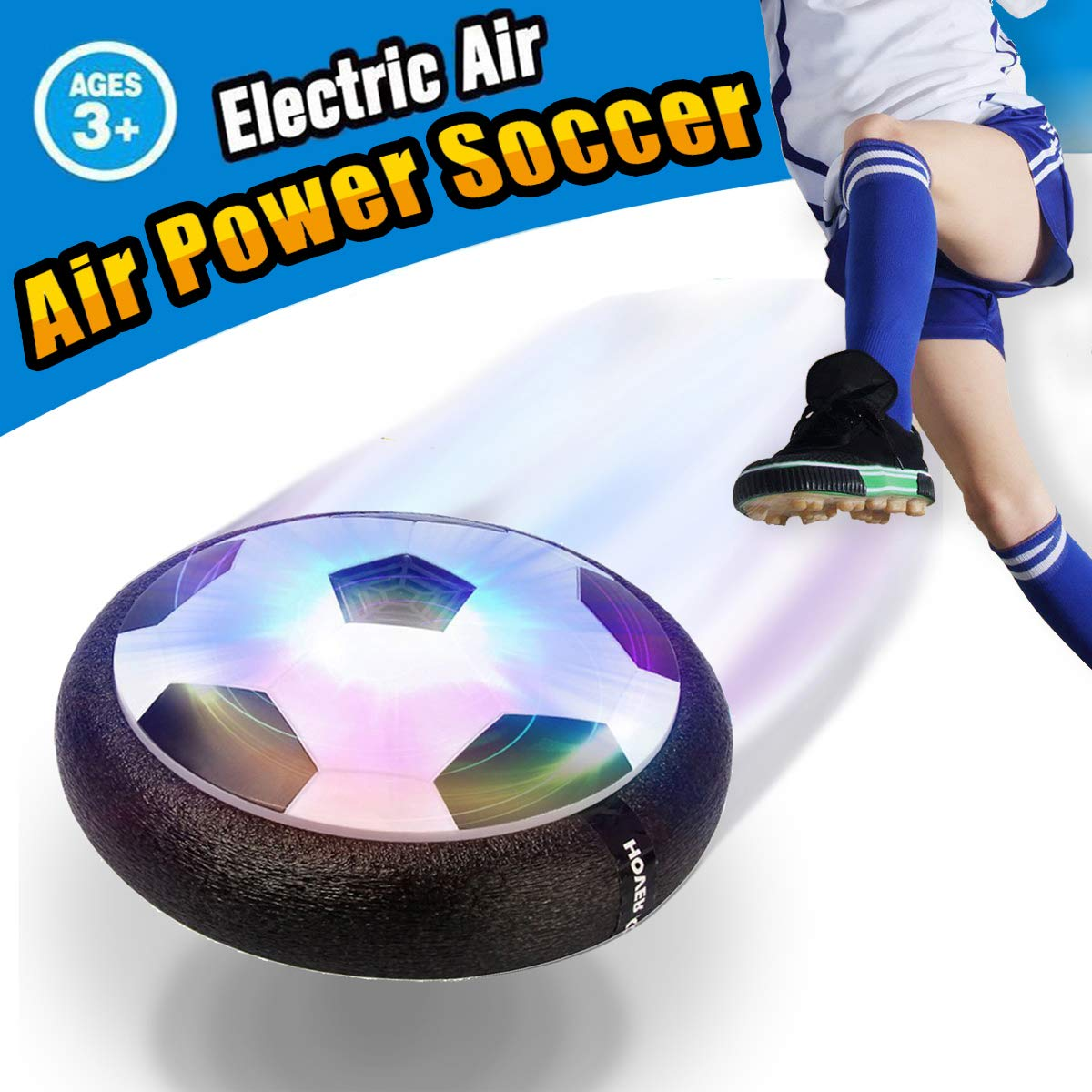VIDEN Air Power Soccer - Balón Flotante con Luces LED y ...