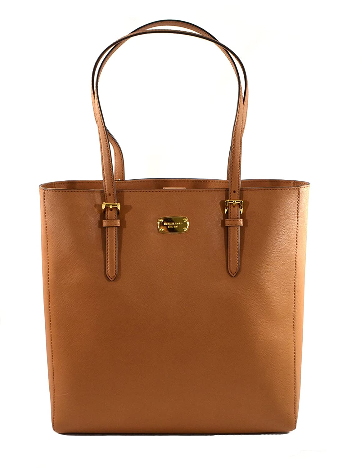 53304ce5c59 Amazon.com  Michael Kors Jet Set Travel Saffiano Leather Tote Bag, Acorn   Shoes