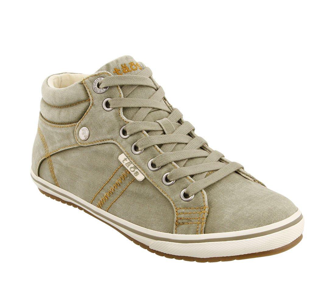 Taos Footwear Women's Top Star Sage Distressed Sneaker 10.5 B (M) US