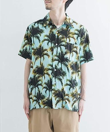 Amboy Shirt 1-4-1-UF05: Blue Palm
