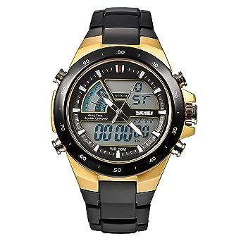 Amazon.com: Skmei 1016 Nuevos deportes reloj 50 m ...