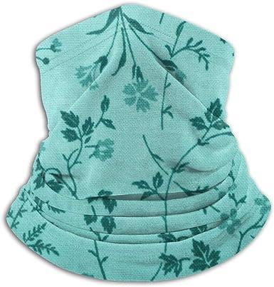 Bandanas Face Mask Headband Blue Floral Patterns Headwear Balaclava Neck Gaiter Sweatband Magic Scarf