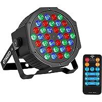 ENKEEO Luz Escenario 36 LEDs RGB Activado Sonidos