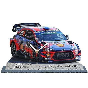 Sébastien Carlo I20Rallye Sur Horloge LoebHyundai Monte 2019En ExoerdCBWQ