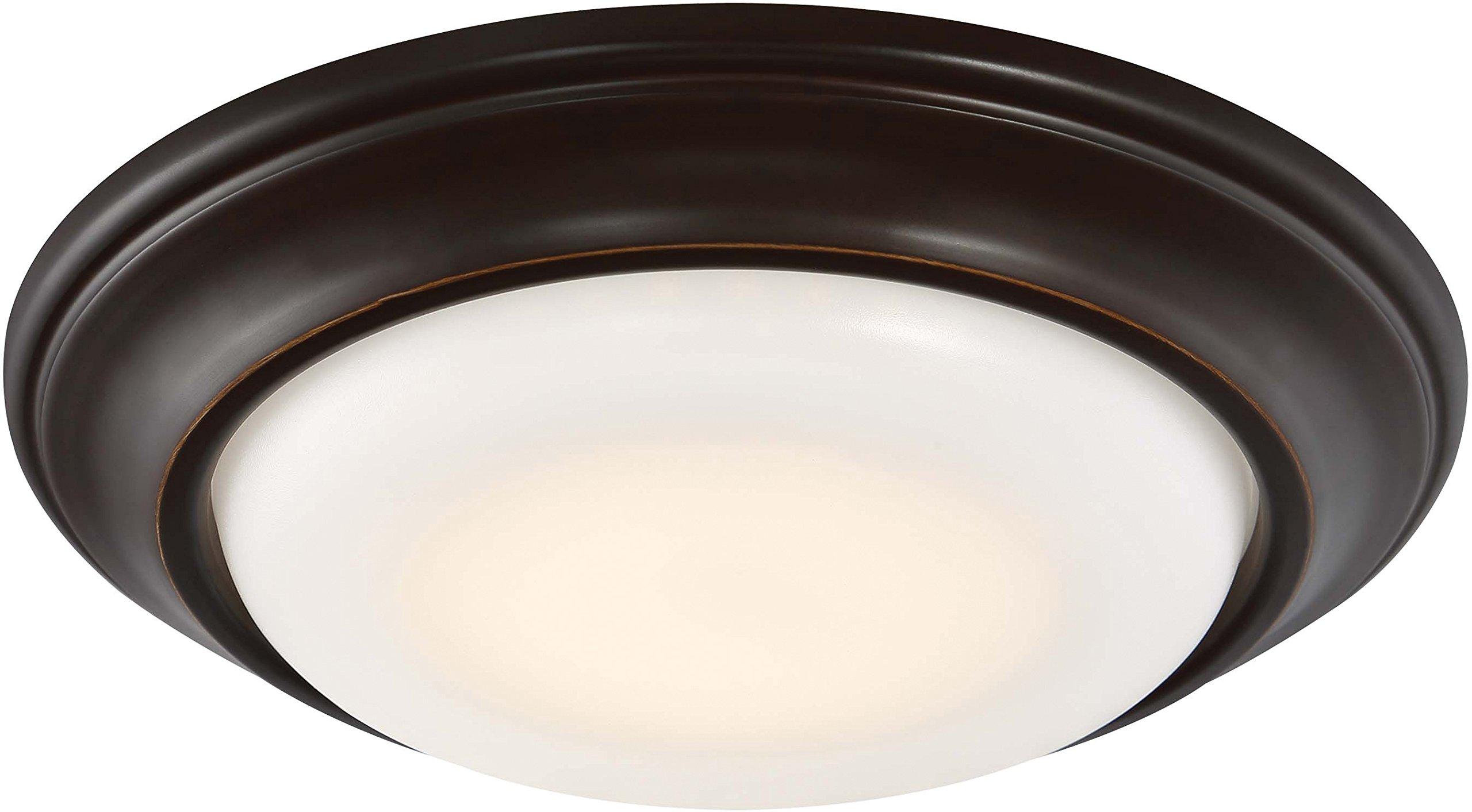 Minka Lavery Recessed Light Retrofit LED 2718-37B-L 6'' Dimmable Kit, 1-Light LED 15 Watts, Dark Restoration Bronze
