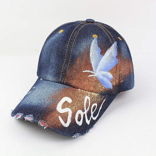 Gorra de béisbol para Adultos con Forma de Pluma de Palma ...