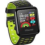 HR Sport GPS Smartwatch, OMORC Sportuhr Laufuhr Fitness Activity Tracker Herzfrequenz Schlaf Monitor 5ATM wasserdicht Laufen Schwimmen Radfahren