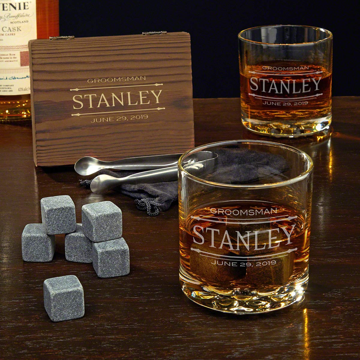 Stanford Personalized Whiskey Set (Custom Product)
