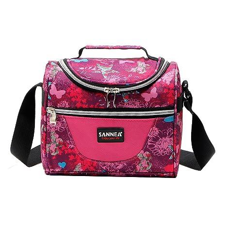 iBaste Bolsa Almuerzo gran capacidad 6L Lunch Bag - Bolsa ...
