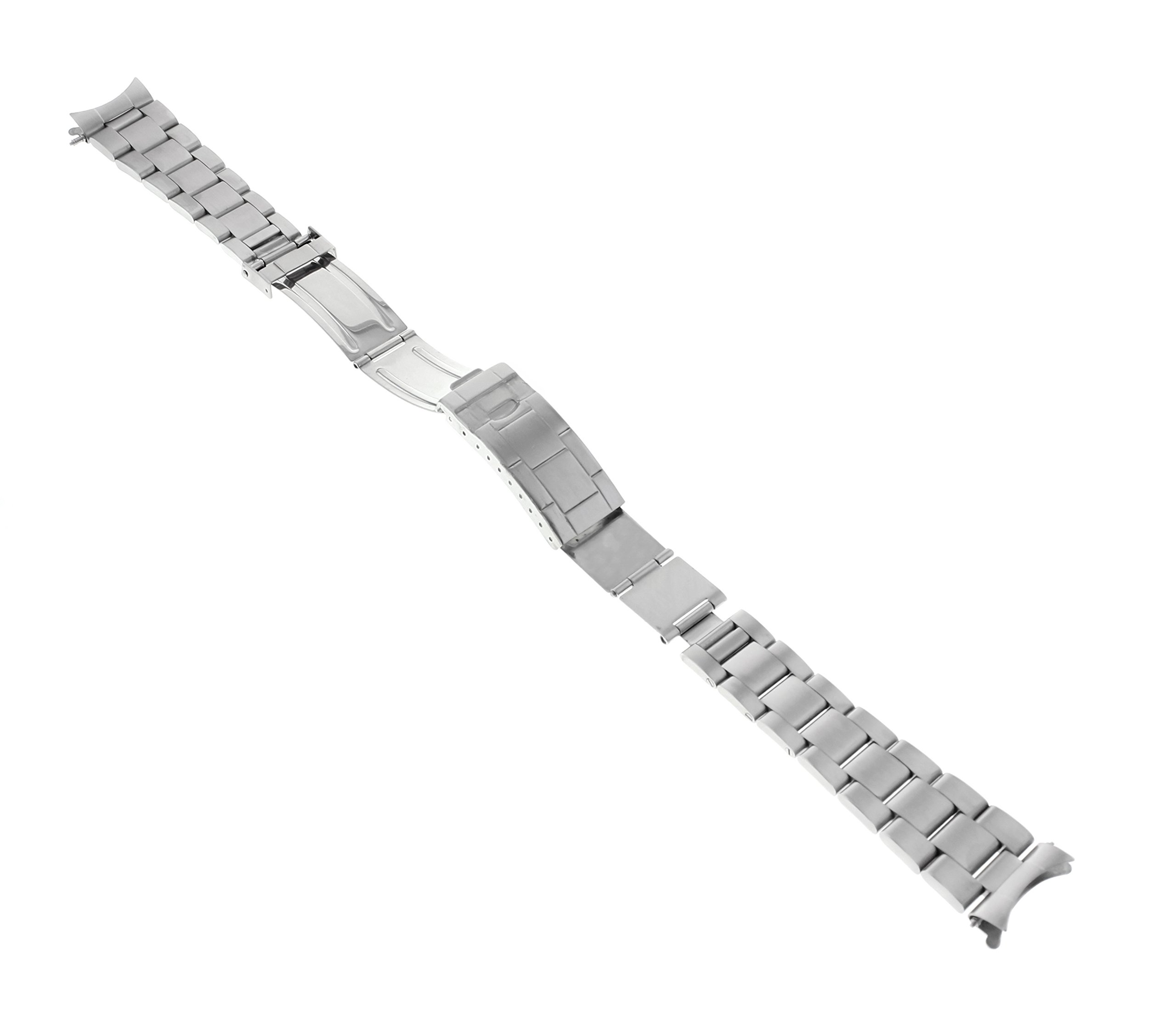 20MM Oyster Band for 40MM Rolex Explorer II 2 16570 FIT Fat Spring BAR FLIP Lock by Ewatchparts (Image #4)