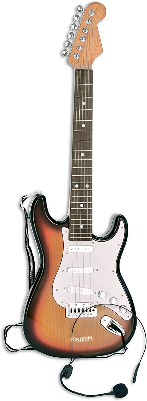 Bontempi 24 1310 Instrumento Musical de Juguete Guitarra Juguete Musical - Juguetes Musicales (Instrumento Musical de Juguete, Guitarra, 5 año(s), Niño,, Batería)