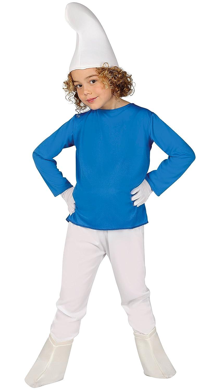 Guirca Disfraz enanito azul Talla 5-6 años 81554.0: Amazon.es ...