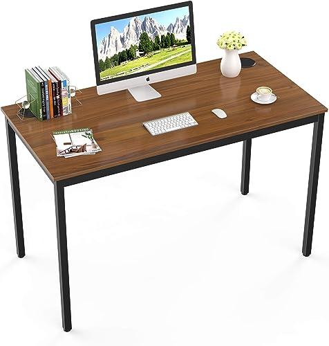 It's_Organized Study Computer Desk 47'' Home Office Writing Desk