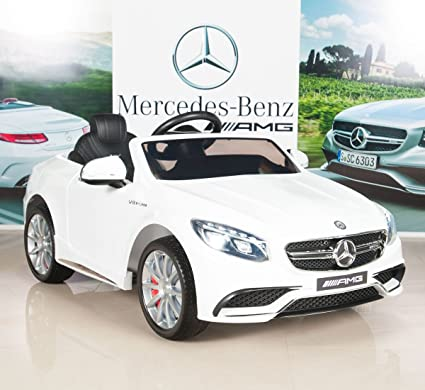 Amazon Com Big Toys Direct Mercedes Benz S63 Ride On Car Kids Rc