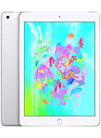 Apple iPad (con Wi-Fi + Cellular de 128GB) - Plata (Ultimo Modelo)