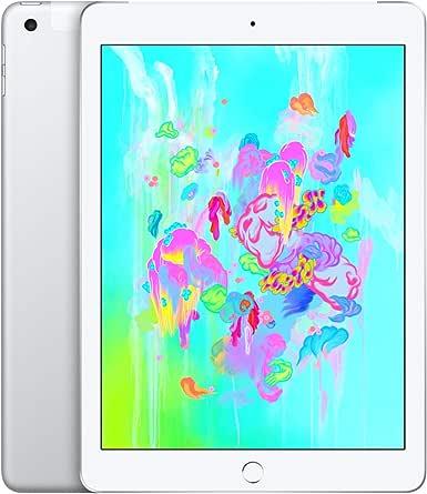 Apple iPad (Wi-Fi + Cellular, 32GB) - Silver (Previous Model)