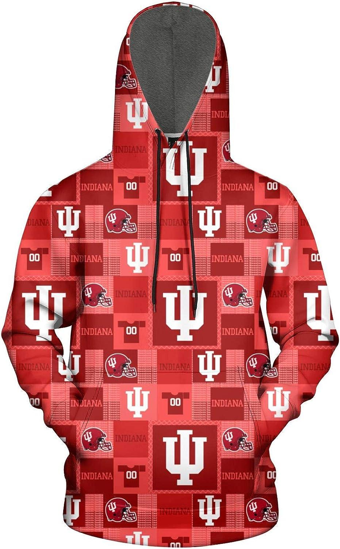 TYUING 3D Printed Mens Hoodies Pullover Dri Fit Athletic Long Sleeve Hooded Sweatshirts