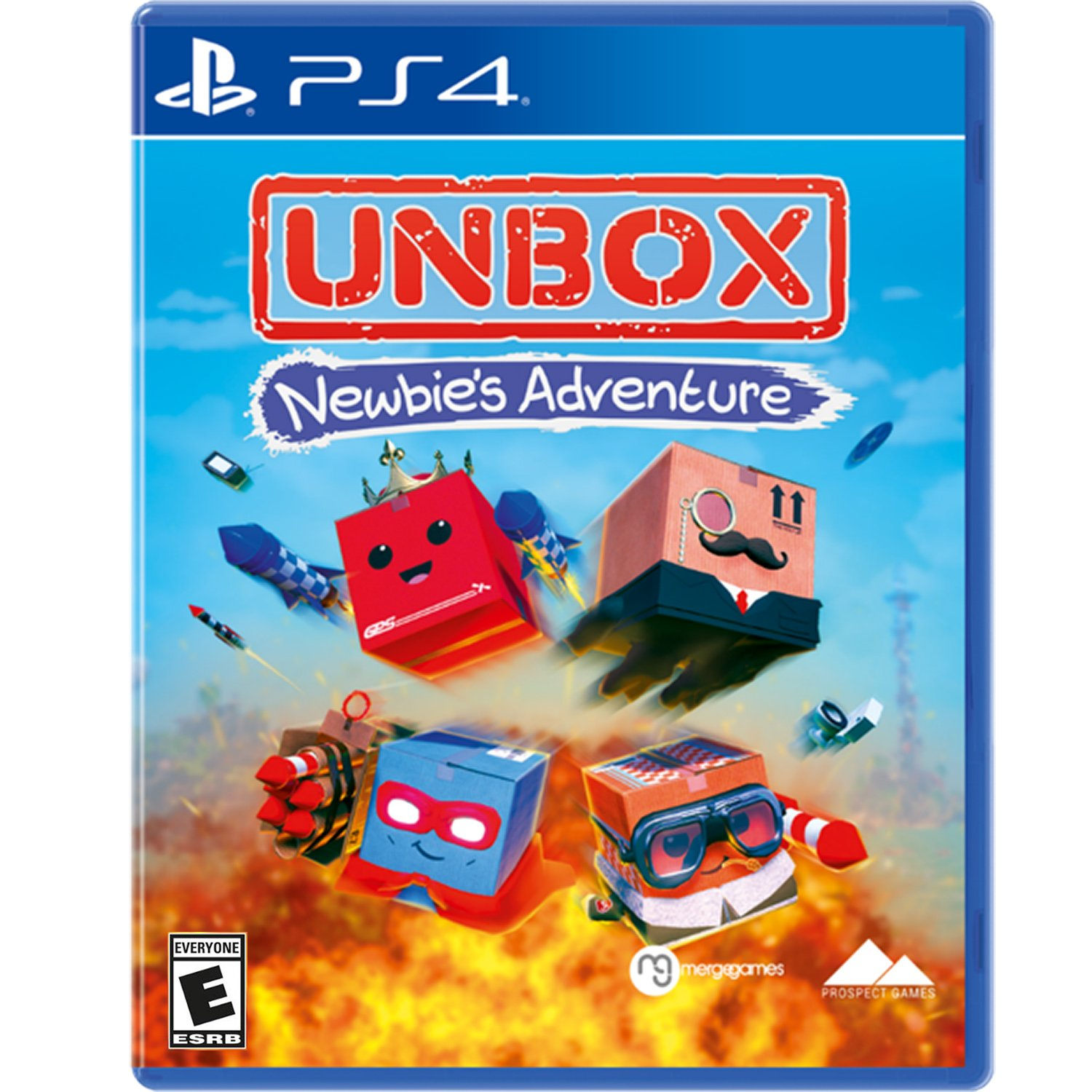 Amazon com: Merge Games Unbox Newbies Adventure