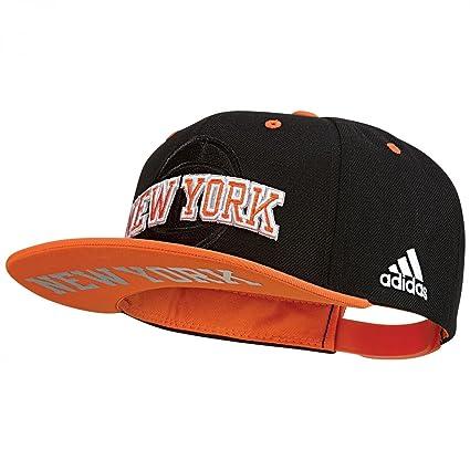 adidas New York Knicks Gorra de Tenis, Hombre, (Negro/Naranj/Azusld