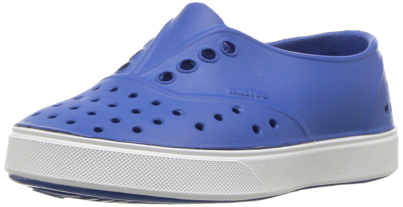 Native Kids' Miller Child Water Shoe, Victoria Blue/Shell White, 12 Medium US Little Kid