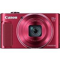 Canon PowerShot SX620 HS Digital Camera (Red)