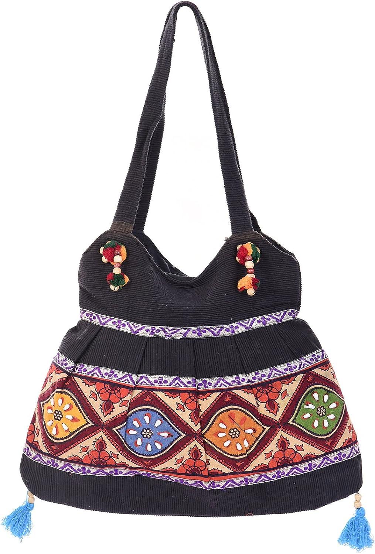Handcrafted Thread Work Bag Cross-body Bagsling bag Ethnic Purse Tribal Handbag Boho Style