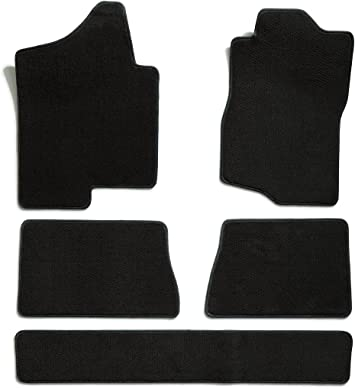 Premium Nylon, Gray Mist Premier Custom Fit 4-piece Set Carpet Floor Mats for Jeep Liberty